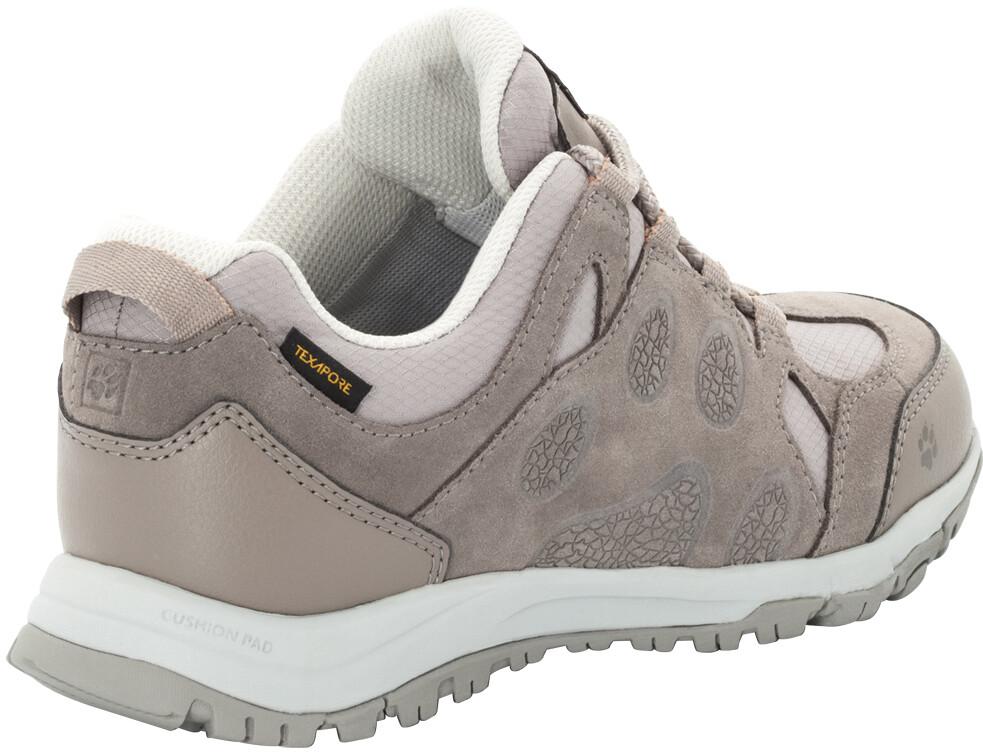geen verkoopbelasting nog een kans beste selectie Jack Wolfskin Rocksand Texapore Low Shoes Women moon rock